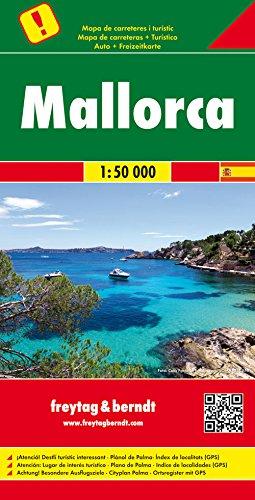 Mallorca, Autokarte 1:50.000: Auto + Freizeitkarte, Besondere Ausflugsziele (freytag & berndt Auto + Freizeitkarten)