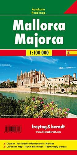 Mallorca, Planungskarte 1:100.000: Wegenkaart 1:100 000