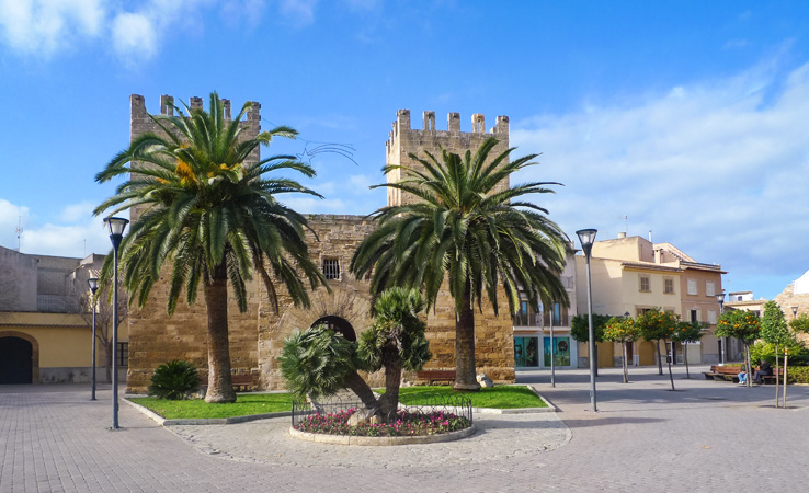 Stadttor Porta del Moll (Porta de Xara)