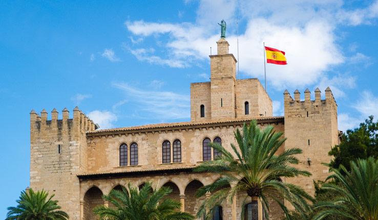 Almudaina Palast in Palma