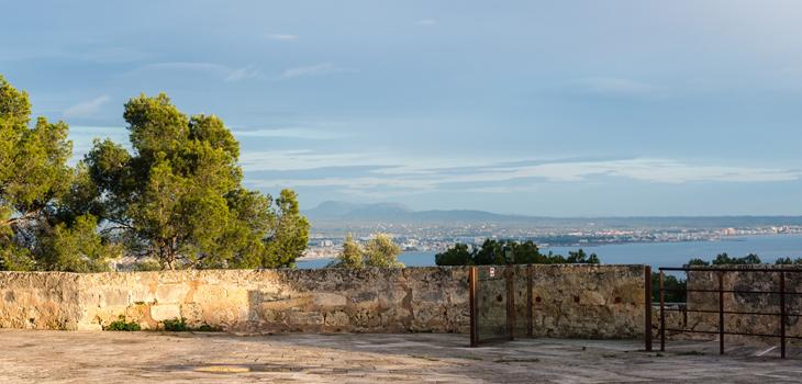 Blick vom Castell de Bellver