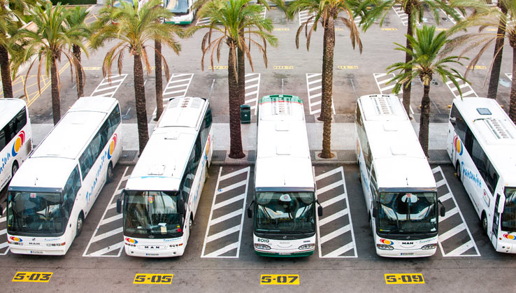 Busbahnhof auf Mallorca