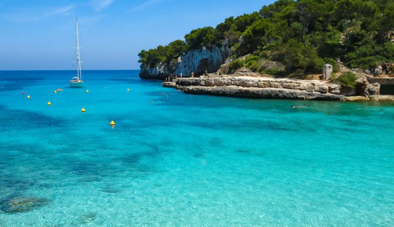 Strand Cala Llombards im Osten Mallorcas