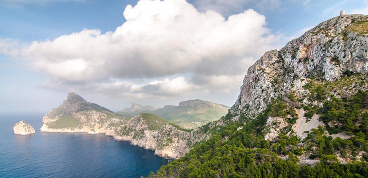 Mirador Es Mal Pas am Cap de Formentor