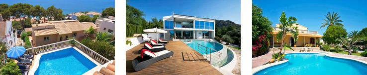 Ferienhäuser bei Alcudia