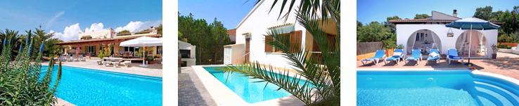 Ferienhäuser bei Cala Figuera
