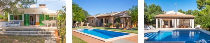 Ferienhäuser bei Son Serra de Marina