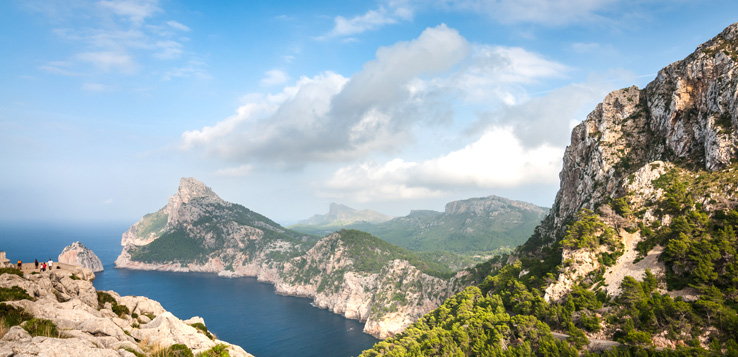 Aussichtspunkt am Cap Formentor