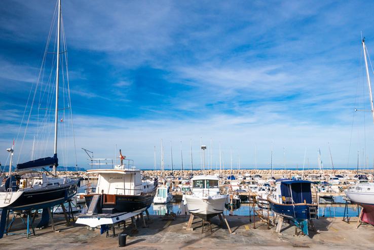 Hafen von Colonia de Sant Pere