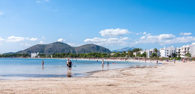 Strand von Alcudia