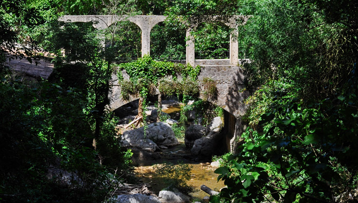 Garten in La Granja