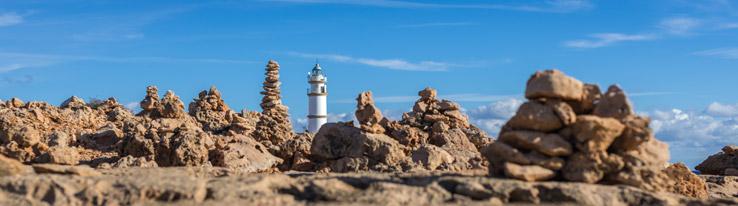 Leuchtturm am Cap de Ses Salines