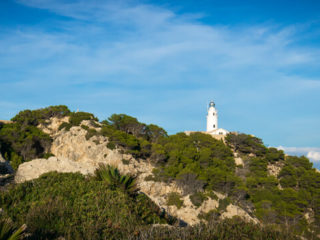 Leuchtturm am Punta de Capdepera