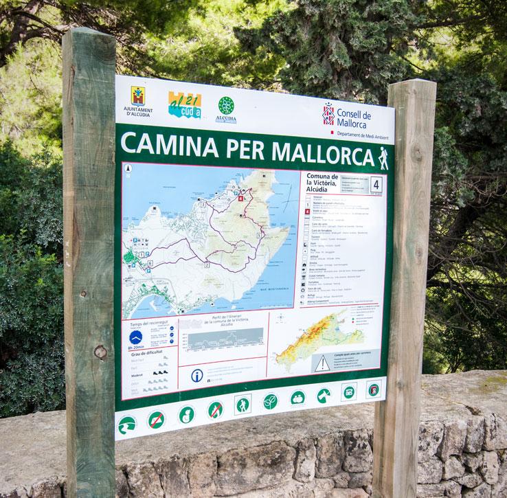 Wanderkarte Mallorca Nord