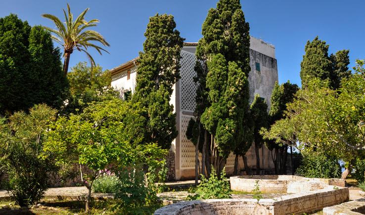 Herrenhaus des Monestir de Miramar
