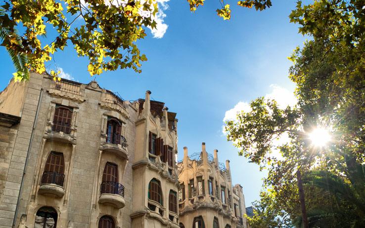Die Altstadt von Palma
