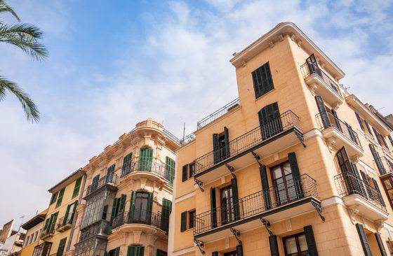 Die Innenstadt von Palma de Mallorca
