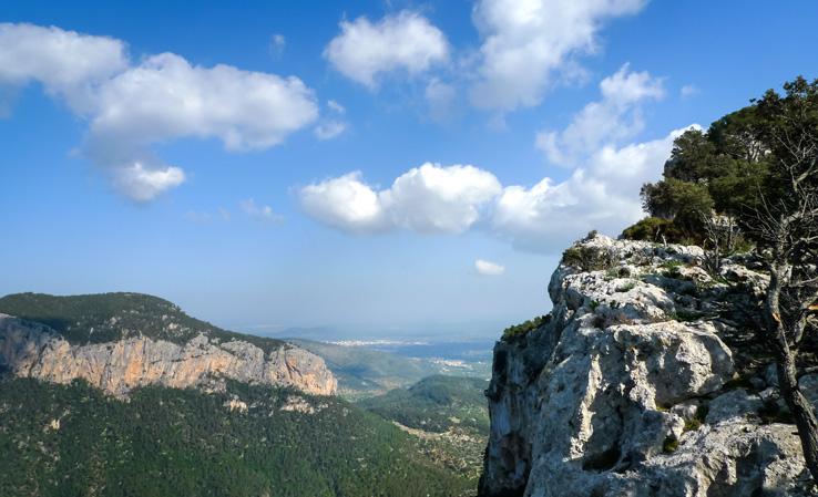 Panorama am Castell d'Alaró