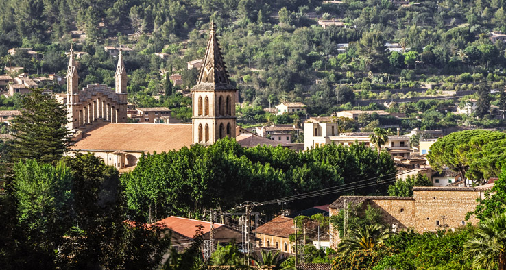 Pfarrkirche Sant Bartomeu in Soller