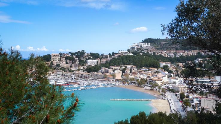 Bucht von Port de Soller