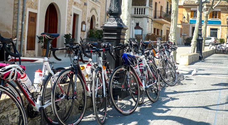 Rennräder auf Mallorca