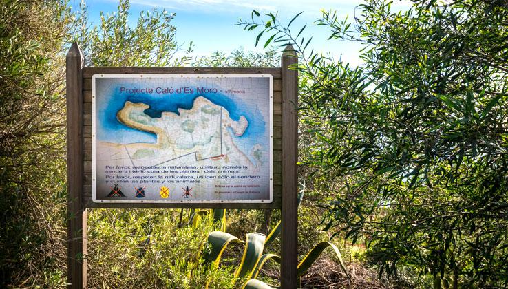 Karte Calo des Moro