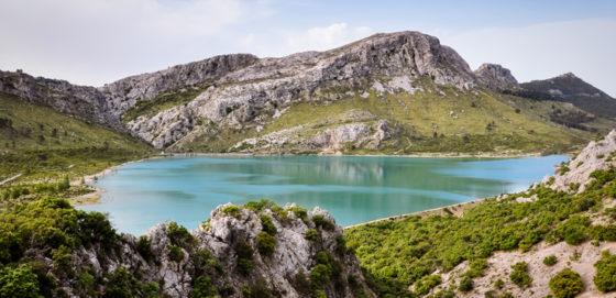 Stausee auf Mallorca
