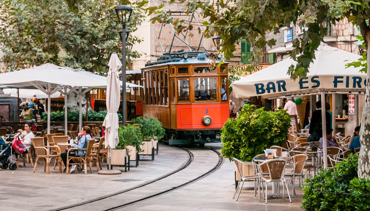 Straßenbahn in Soller
