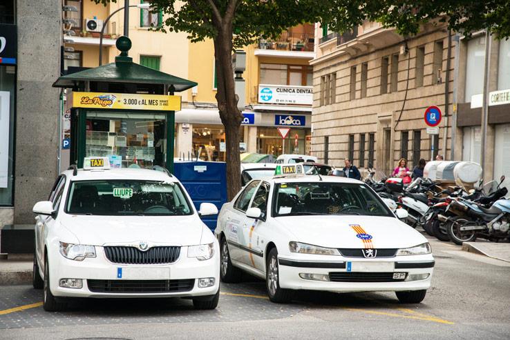 Taxi auf Mallorca
