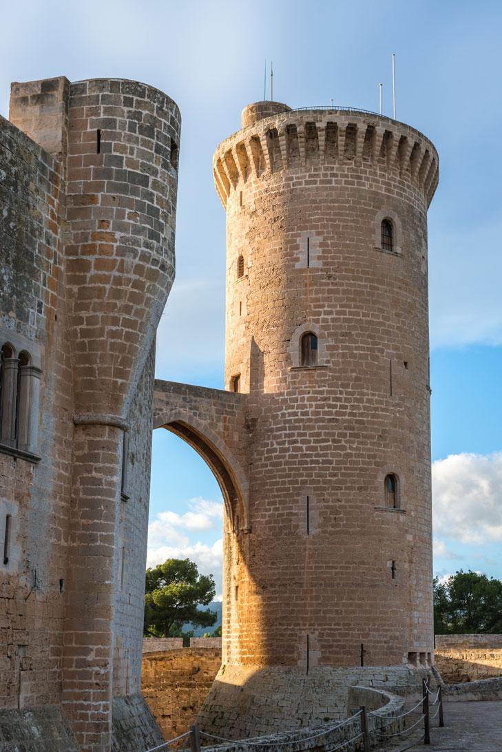 Turm des Castell de Bellver