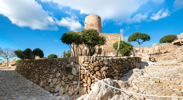 Wehrturm vom Castell de Capdepera