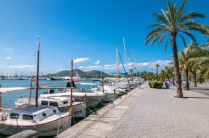 Der Yachthafen von Puerto de Alcudia