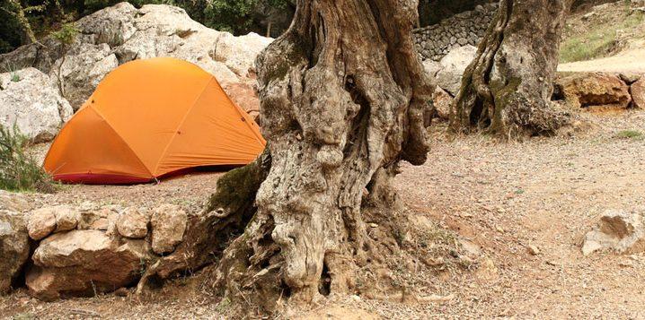 Zelten auf Mallorca